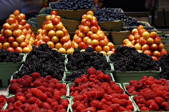 Granville, Market, Fruits - Free image - 50423